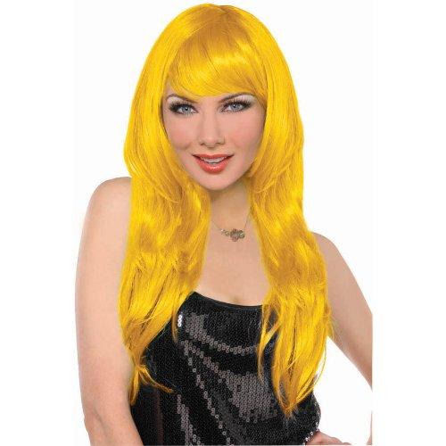 Yellow Glamorous Wig