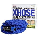 #7: New X HOSE 50ft Patented Expandable Flexible Garden Hose As Seen On TV In Official Retail Box