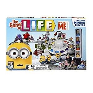Despicable Me Minion The Game of Life Game from Hasbro Gaming