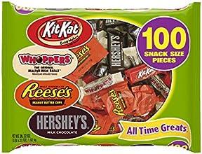 Hershey's Halloween Snack Size Assortment, 100-Count Bag