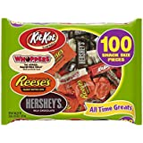 Hershey's Snack Size Chocolate Assortment 100-Count Bag