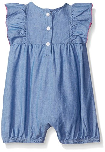The Children's Place Baby Romper, Chambray, 0-3 Months