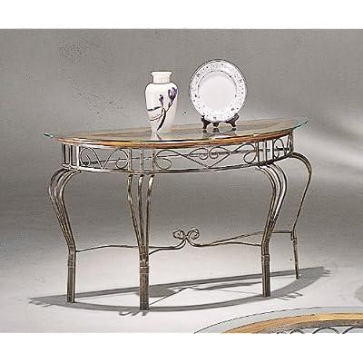 .com - Southwestern Style Wood & Wrought Iron Console Sofa Table