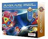 ディーマーク 図形認識 積み木 30ピース 磁力建設ビル 立体パズル 想像力の開発 知育玩具 幾何学形 おもちゃ磁石 建築ブロック 脳トレーおもちゃ