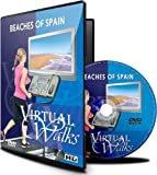 Virtual Walks - Beaches of Spain for indoor walking, treadmill and cycling workouts
