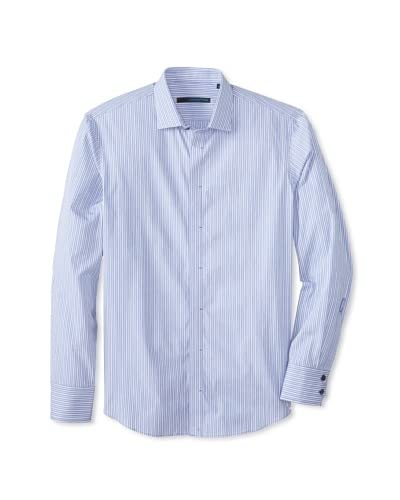 Zachary Prell Men's Cohen Striped Long Sleeve Shirt