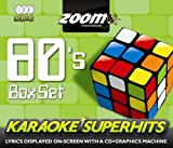Zoom Karaoke CD+G - 80s Superhits 1 - Triple CD+G Karaoke Pack Zoom Karaoke