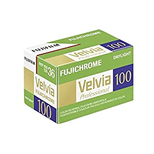 Fujifilm Velvia 100 135/36 Color Reversal Film