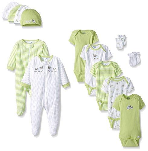 Gerber Baby 13 Pack Essentials Gift Set, Lamb, Newborn