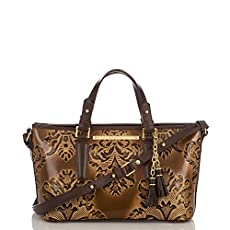 Mini Asher Tote<br>Brown Fresco