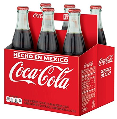 Mexican Coca-Cola, 6 ct, 355 mL bottles (Mexico Soda compare prices)