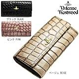 (ヴィヴィアンウエストウッド)VIVIENNE WESTWOOD 財布 Vivienne Westwood 32407 APOLLO CROC アポロクロック クロコ型押し 2つ折り長財布 選べるカラー[並行輸入品]