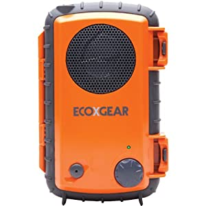 EcoXpro Waterproof Case with Built-In Speaker and Waterproof Headset Jack for Smartphones/MP3 Players, Orange (GDI-EGPRO100)