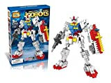 i Robots Diamond Blocks 440pcs Toy Set, 3D Figure Micro Blocks Fun Parent-Child Game