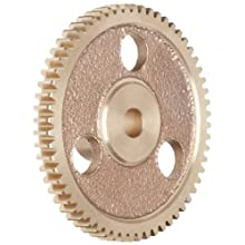 Boston Gear Y32112 Spur Gear, Brass, Inch, 32 Pitch