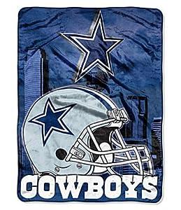 Dallas Cowboys Aggression Extra Large Fleece Throw Blanket by Northwest