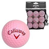 Callaway 9 Soft Flight HX Practice Balls - Pink