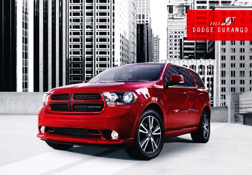 2013 Dodge Durango 32-Page Original Sales Brochure Catalog - Rt Blacktop Citadel
