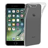 iPhone 7ケース【Qosea】iPhone 7カバー 高品質0.3mm 超薄型TPU透明 シリコン ケース 落下防止 防指紋 超薄型、軽量TPU素材 ケース ソフト クリア (iPhone 7, 透明)