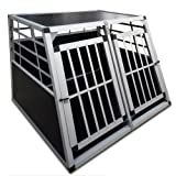 "Alu Hundetransportbox Auto Hundebox Doppelt�rig 86x99x67cmvon ""Leopet�"""