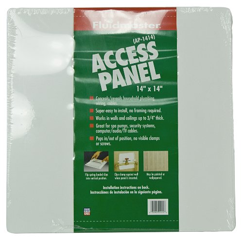 Fluidmaster AP-1414 Plastic Wall Access Panel, 14-Inch