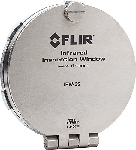 Flir Systems Irw-3S 3-Inch Steel Infrared Inspection Window