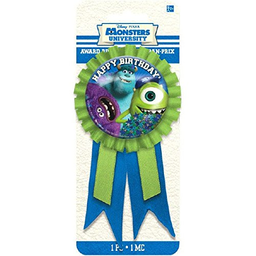 "Amscan Monsterrific Disney Monsters University Party Table Decorating Kit, 8 x 3.3"", Blue/Gere"