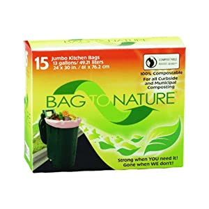 Bag To Nature Garbage Bags Tall Kitchen Trash Bags