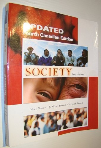 Updated Four Canadian Edition Society the basics