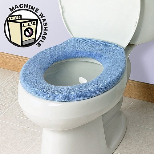 Soft N Comfy Toilet Seat Cover Sky Blue EBay