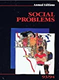 img - for Social Problems 94/95 book / textbook / text book