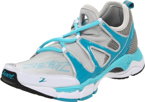 Zoot Women's Ultra Kane 3.0 Running Shoe,Light Grey/Reef/White,7 M US