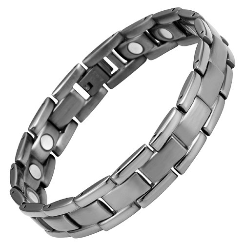 Willis Judd New Mens Gunmetal Titanium Magnetic