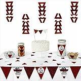 We Still Do - 40th Wedding Anniversary - Triangle Wedding Anniversary Party Decoration Kit - 72 Pieces