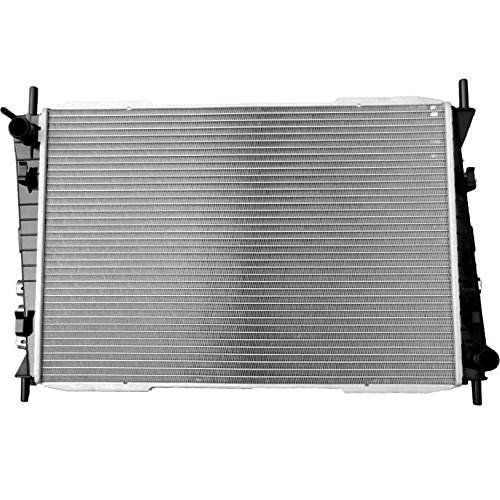 Scitoo New 2622 Aluminum 1 Row Radiator fits for Jaguar X-Type V6 3.0L 2.5L (Radiator Jaguar X Type compare prices)