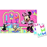 Hallmark - Disney Minnie Mouse Bow-tique Pin the Bow on Minnie Game - Standard