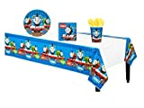 Thomas the Tank Engine Birthday Party Pack Supplies for 16 Guests