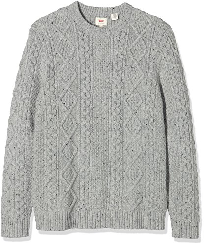 levis-mens-fisherman-cable-crew-sweatshirt-grey-c18710-fisherman-novetex-flannel-sweater-ms152003-04