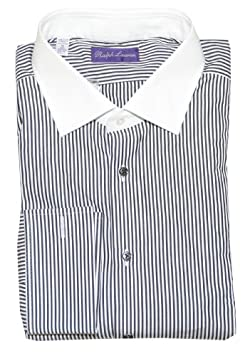 Ralph Lauren Purple Label Men French Cuff Dress Shirt