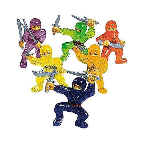 48-pc Toy Ninja Warriors - 1