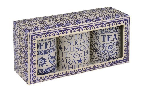 Emma Bridgewater Blue Hen Tin Caddies (Set of 3)