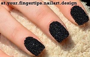 Black Caviar Nails BLACK CAVIAR MANICURE