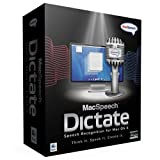 MacSpeech Dictate - Version 1.5 (Mac/Leopard) with USB Plantronics headset