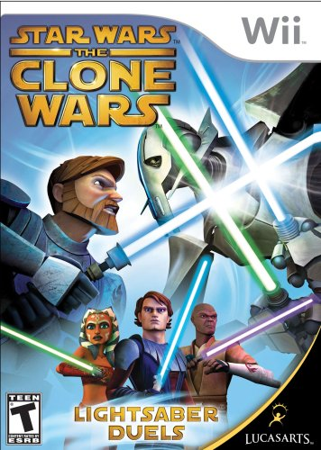 Star Wars the Clone Wars: Lightsaber Duels - Nintendo Wii (Star Wars Ii Wii compare prices)