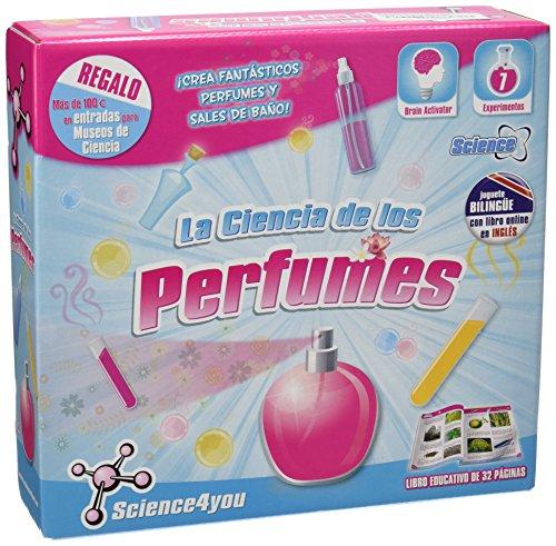 Science4you - La ciencia de los perfumes, juego creativo con 7 experimentos, +8 años (213)