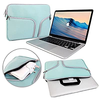 ivencase Portable Soft Zipper Sleeve Pouch Handle Carrying Bag Case for Laptop / Notebook / Ultrabook / Macbook Air / MacBook Pro / Pro Retina from Iven Global Trade
