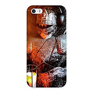 Warrior Knight Print Back Case Cover for iPhone 5 5S