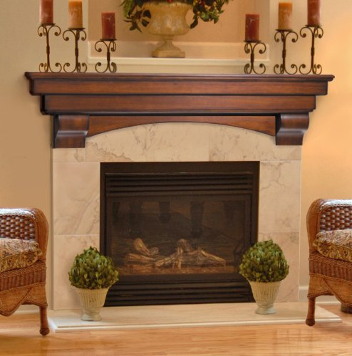 Stone fireplaces fireplaces and half walls on pinterest for Fireplace half stone