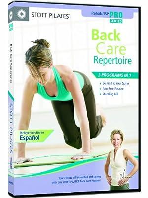 Stott Pilates Back Care Repertoire DVD