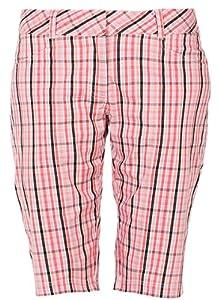 Lija Ladies Precision Collection Plaid Golf Shorts by Lija